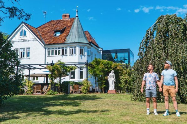 Gay Summer Road Trip Skåne Gay-friendly Kiviks Hotell at the East Swedish Coast © Coupleofmen.com