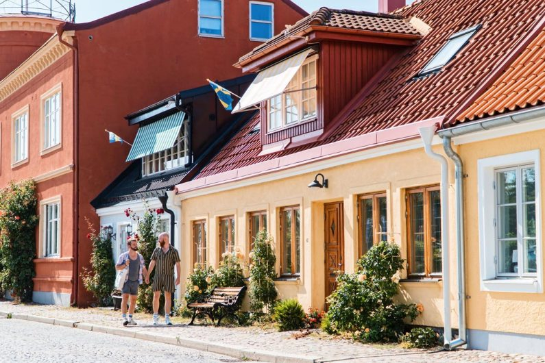 Gay Summer Road Trip Skåne Gay Summer Road Trip Skåne We took the time to walk around the picturesque South Swedish city Ystad © Coupleofmen.com