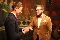 Same-Sex Marriage in Russia Homo-Ehe in Russland Gay Marriage in Russia Gay Couple Pavel & Evgenii exchanging rings during their wedding in Denmark © Pavel Stotcko & Evgenii Voitsekhovskii