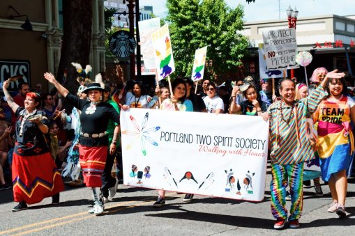 Part of the Parade: The Portland Two Spirit Society © Coupleofmen.com