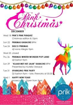 Pink Christmas Events at Prik Pink Pubquiz | Gay-Christmas Markets 2019 © PRIK Amsterdam