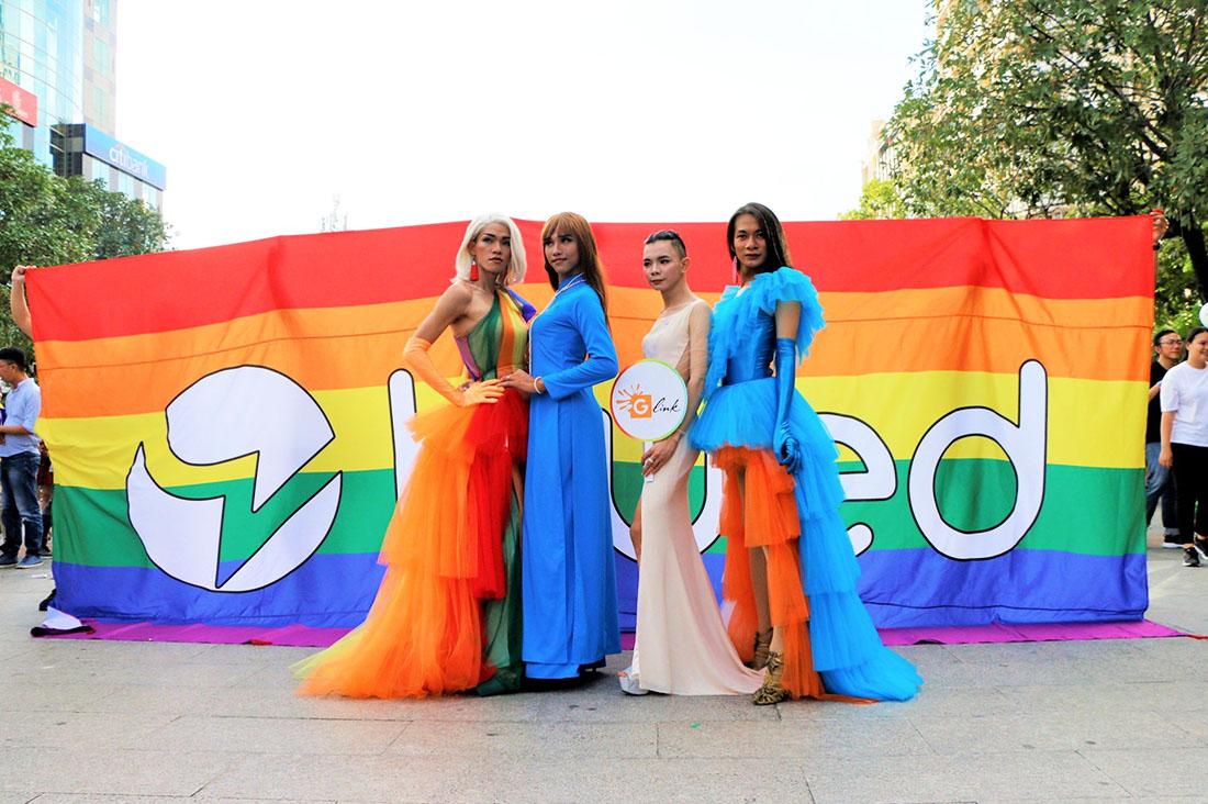 Schwul in Vietnam Gay in Vietnam Transgender at Pride in Vietnam © ICS Ho Chi Minh City