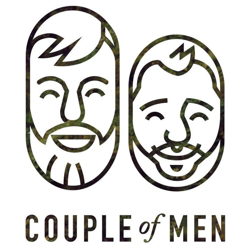 Jaime Hayde ArtWork became Couple of Men's first iconic logo Gay Artwork on Instagram: our favorite art pieces of Couple of Men