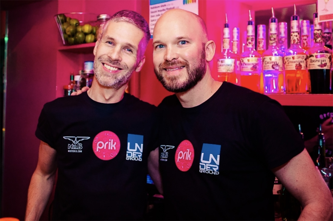 Photo of the PRIK founders Gerson and Jelger
