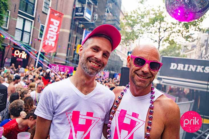 Gay Bar PRIK Amsterdam: Meet Gerson Phil - A Gay Couple Story