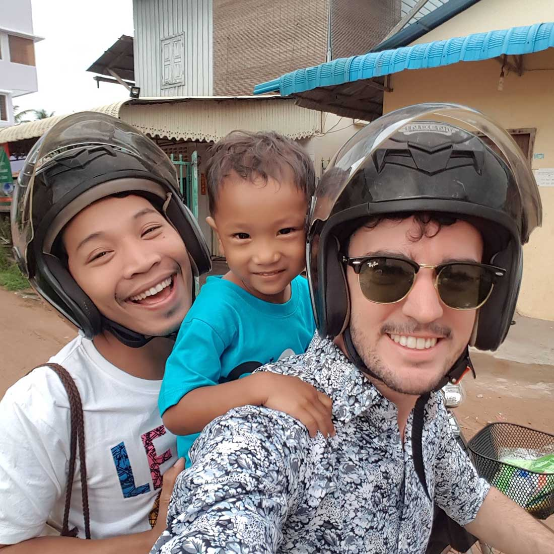 """""""We always knew we wanted to help the LGBTIQ+ community"""" - Jason and Tola from Siem Reap, Cambodia"""