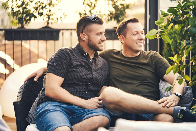 Food and traveling the gay couples favorite things to do together