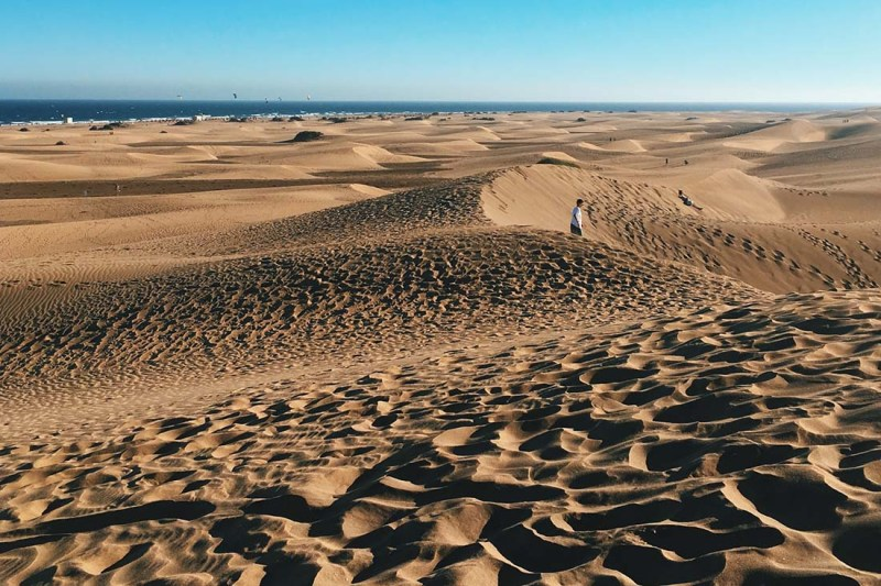 Gran Canaria Gay Cruising Guide: Sand dunes of Gran Canaria