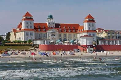 Rügen is known for its Kurbäder