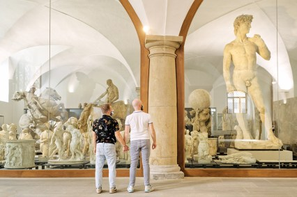 Statues and Dresden's David at the Albertinum, Dresden-Altstadt © Coupleofmen.com