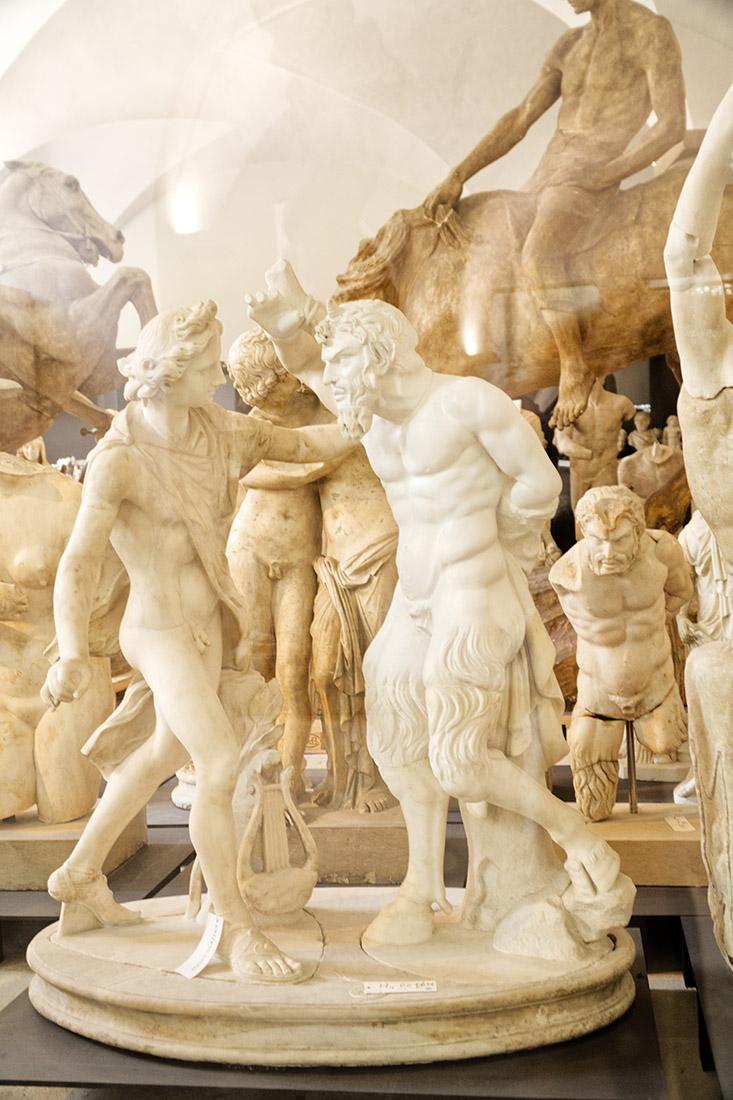 (Sexy) statues and unique paintings at museum 'Albertinum' - Dresden Altstadt © Coupleofmen.com
