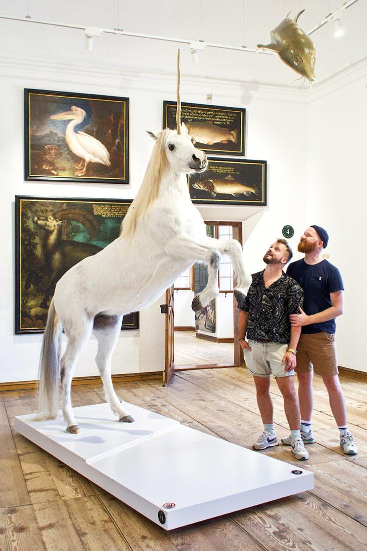 rediscover Gay Salzburg Must-do on our Salzburg bucket-list: Finding the Unicorn at Hellbrunn Palace g Coupleofmen.com
