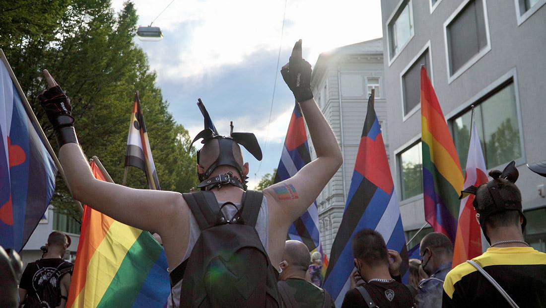 Walking together as part of CSD Salzburg Pride © Coupleofmen.com