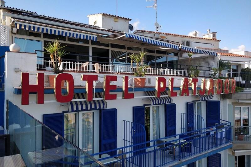 Sitges Hotel Platjador © John Ripploh