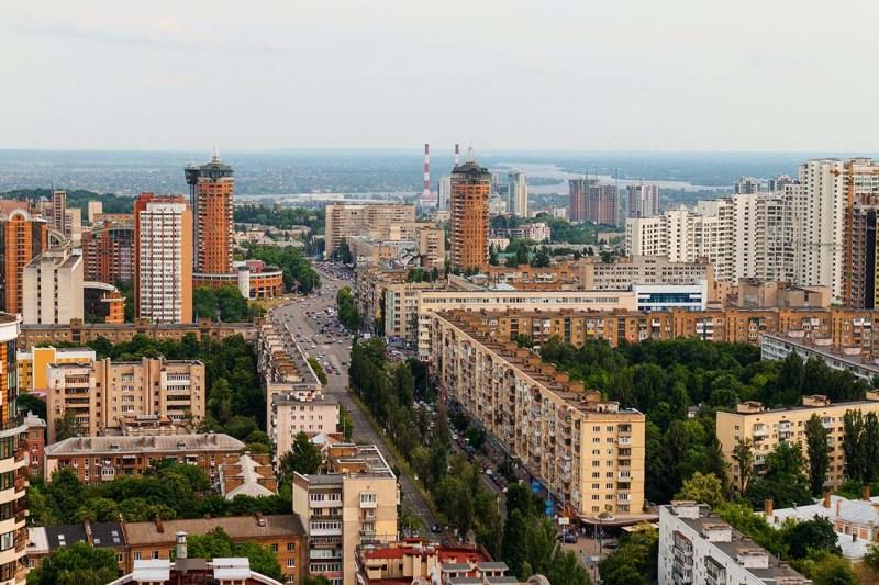 Schwul in der Ukraine: Blick über Kiew - Aktuelle Lage der LGBTQ+ Community in der Ukraine