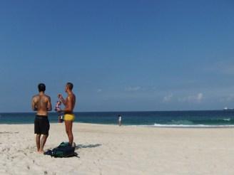 Beach life Brazilian style