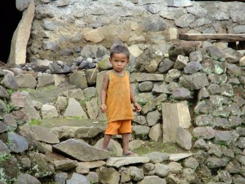 A young'un, nr Bajawa, Indonesia