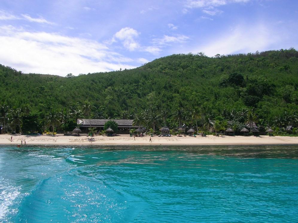 Gorgeous turquoise water, Waya, Fiji