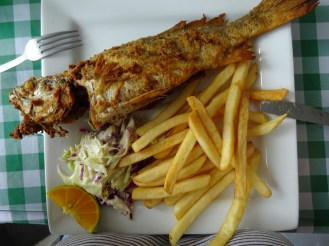 Fish n chips, Panama