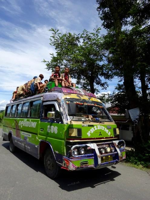 The school bus