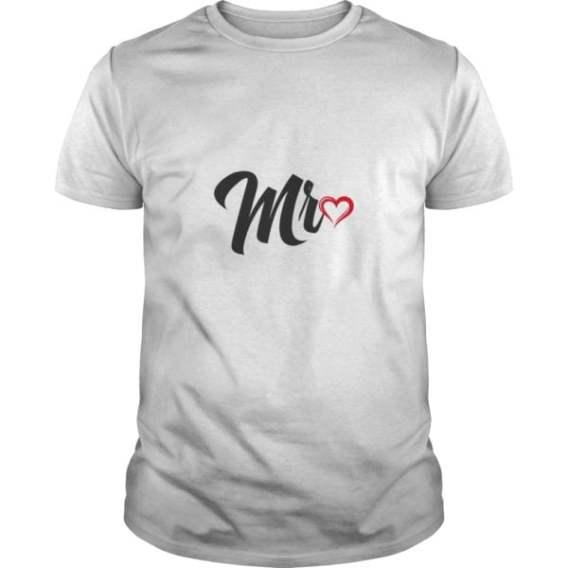 Couples Shirts Mr Love Mrs