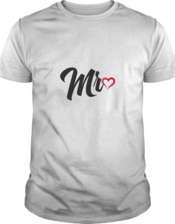 Couples Shirts Mr Love Mrs