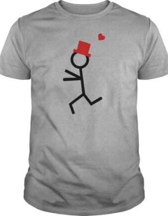 Partner Shirt Couple Runs To Each Other TShirts Men's TShirt