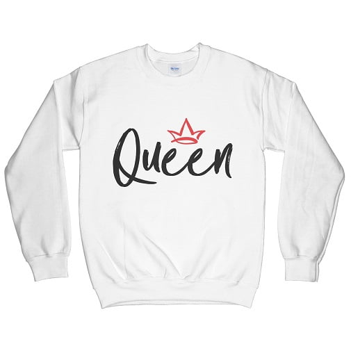 Bold Queen Hoodie Sweatshirt