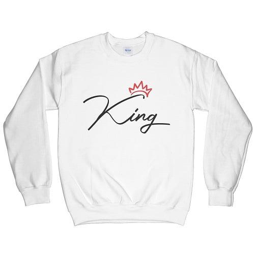 Red Crown King Hoodie Sweatshirt