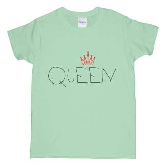 Mint Green Queen T-Shirt