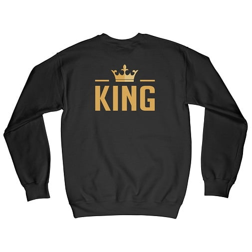 The King Matching Couple Hoodies - King Queen Sweatshirts