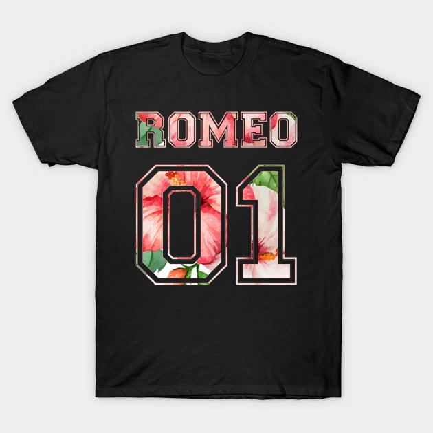 Cute Matching Romeo and Juliet Couple Shirts