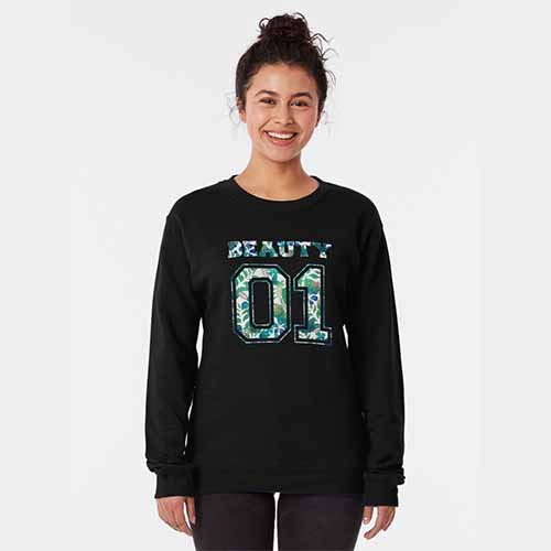 Beauty and The Beast Pullover Sweatshirt