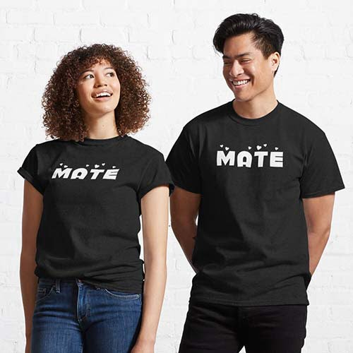 Matching Soulmate Couple T-Shirt