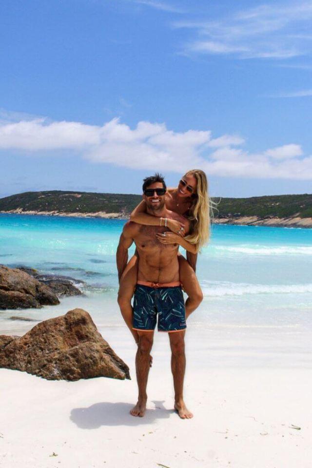 couples coordonne esperance australie occidentale michael et alex à hellfire bay