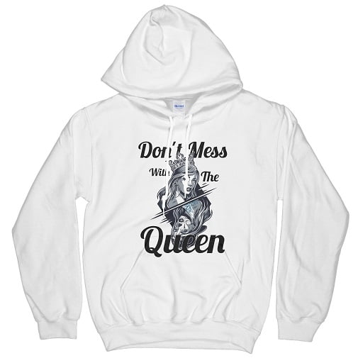 Don't Mess With The Queen Bella Flowy Tank Hoodie