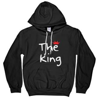 Red Crown The King Hoodie