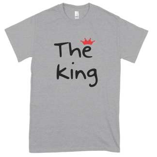 Red Crown The King T-Shirt