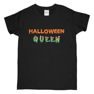 Halloween Horror Queen T-Shirt