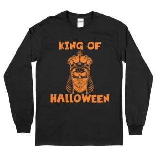 King Of Halloween Long Sleeve Tee