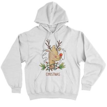 Cute Rudolph the Red-Nosed Reindeer Hoodie