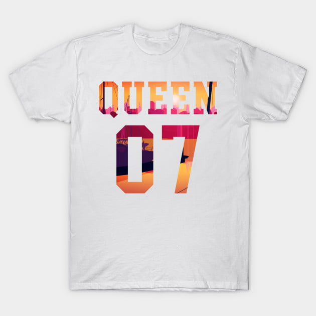 King Queen Together Since 2007 Shirts