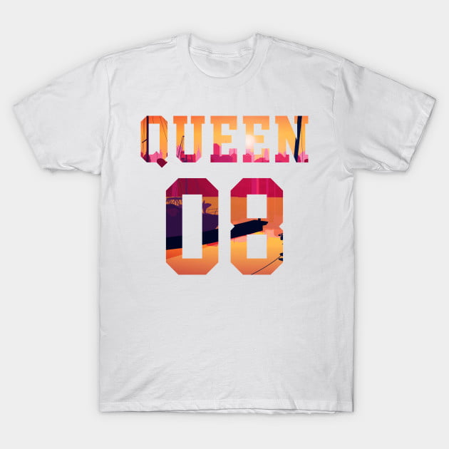 King Queen Together Since 2008 Shirts