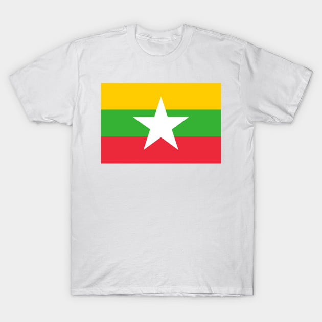 Flag of Myanma T-Shirt