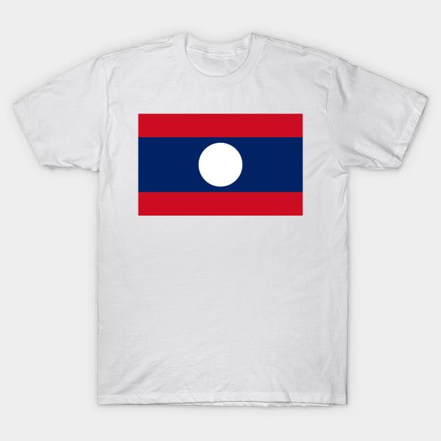 Flag Of Laos T-Shirt