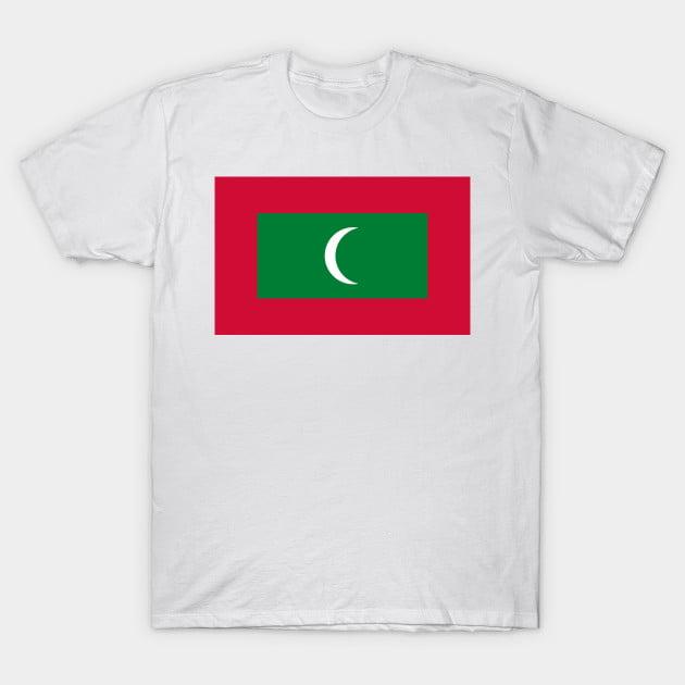 Flag OF Maldives T-Shirt