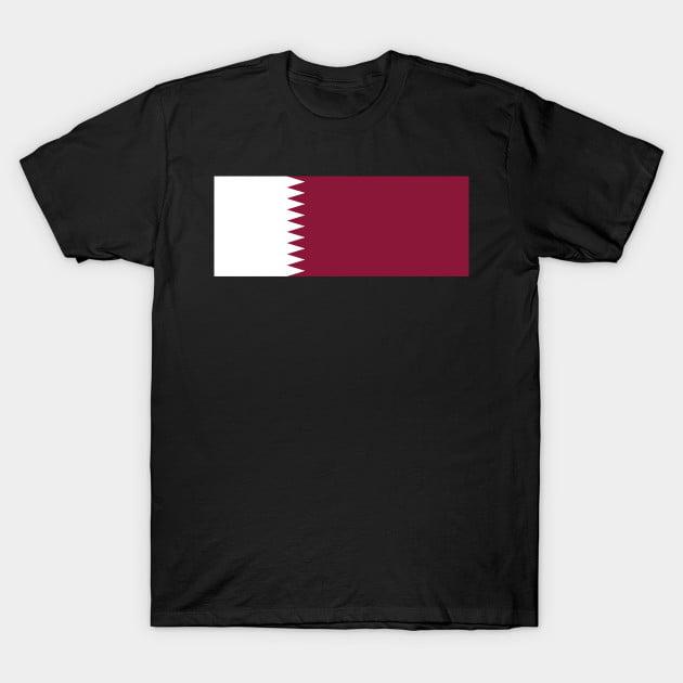 Flag Of Quatar T-Shirt
