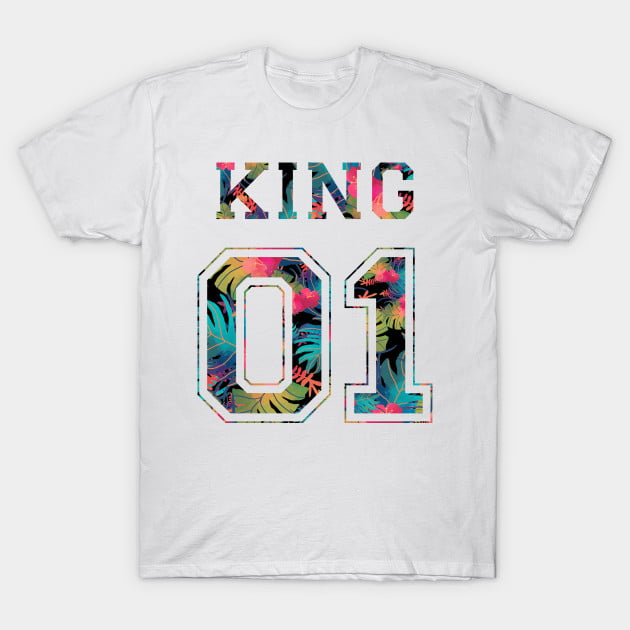 Flowers King Queen 01 Shirts