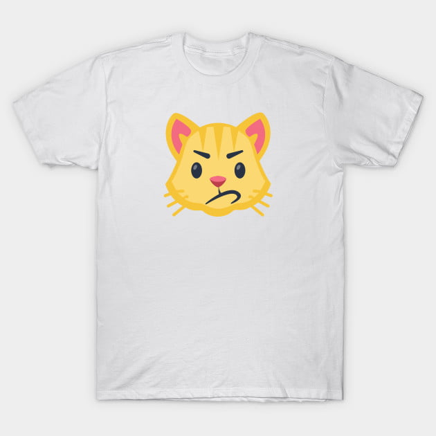 Yellow Cat Emoji Shirts