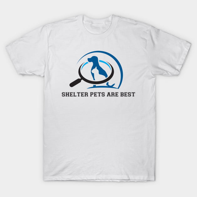 Rescue Adopt Shelter Pets T-Shirt